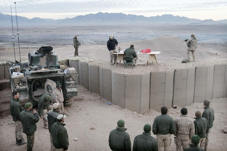 Fotograaf Afghanistan missie uruzgan kandahar militairen militaire foto's fotografie Afghanistan
